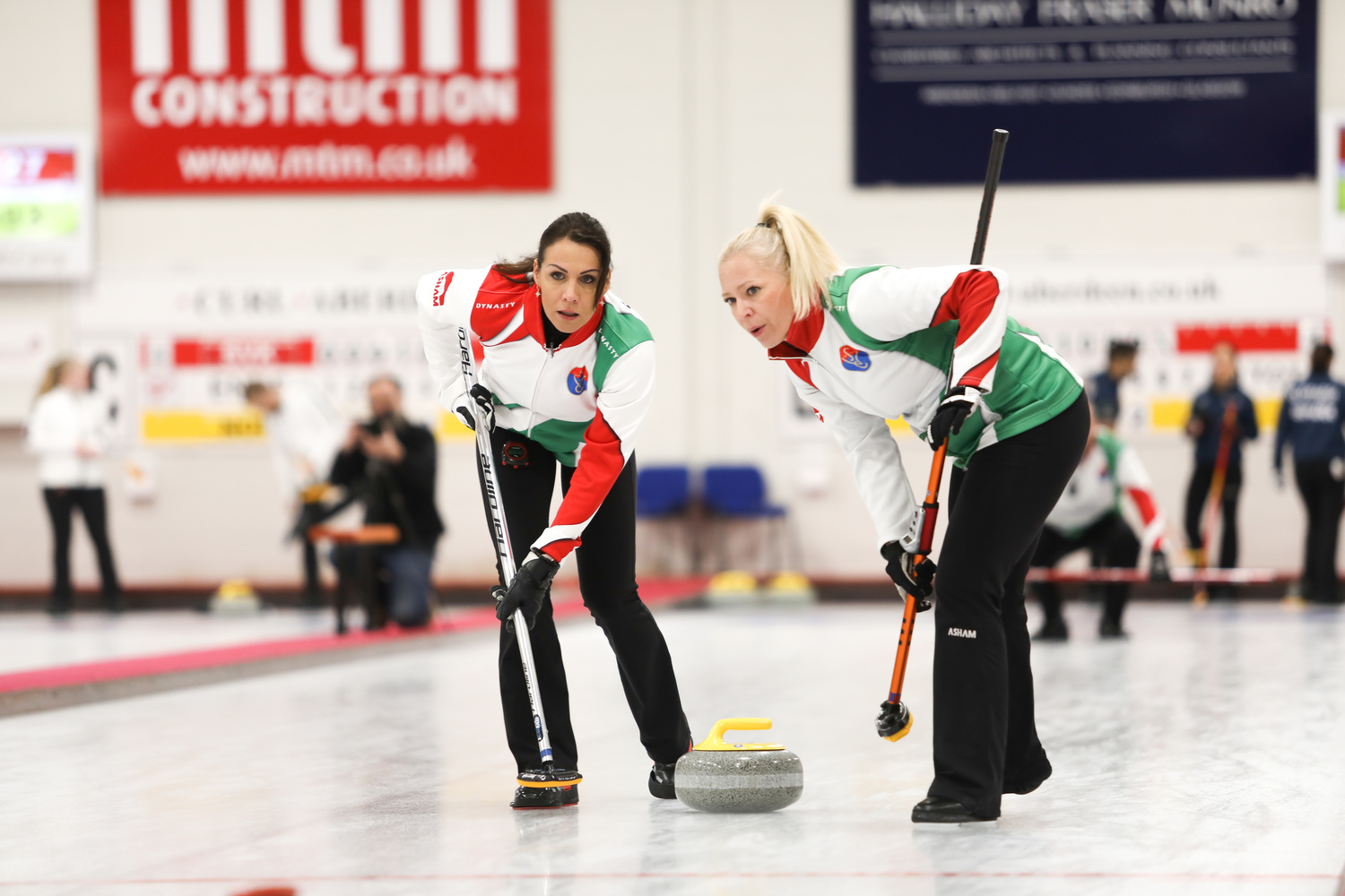 First world mixed quarter-final teams set after opening last-16 round - World Curling Federation