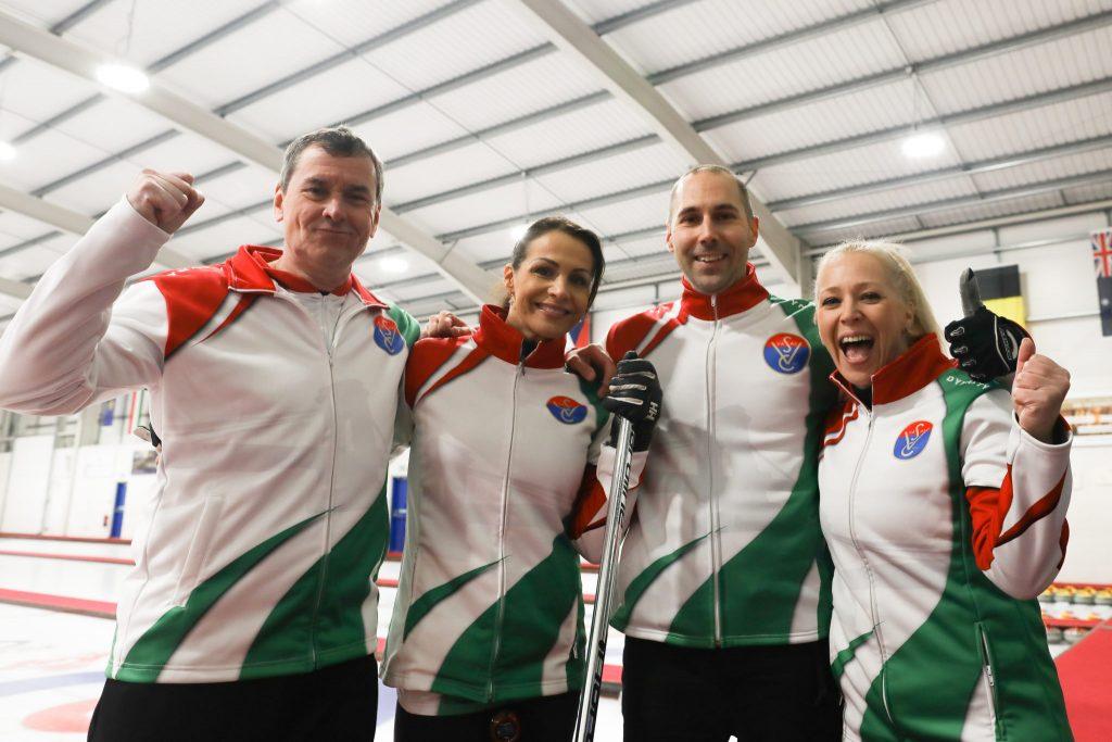 Blanka Dencso, Gergely Szabo, Gyorgy Nagy, HUN, IIdiko Szekeres, © WCF / Stephen Fisher