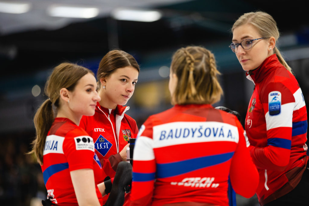 Alzbeta Baudysova, Anna Kubeskova, Ezen Kolcevskaja, Petra Vinsova, cze © WCF / Celine Stucki