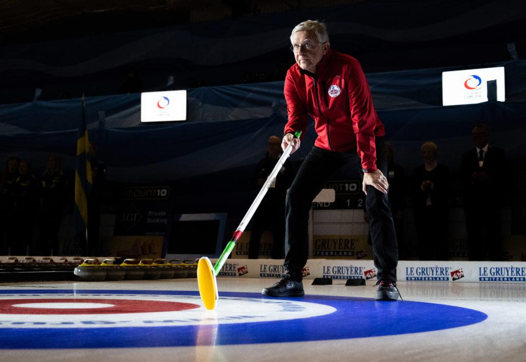 helsingborg curlers, opening ceremony  © WCF / Cheyenne Boone