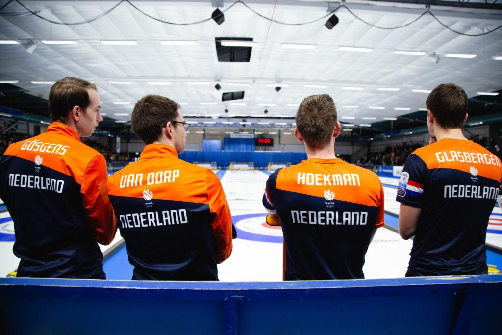 Carlo Glasbergen, Jaap Van Dorp, Laurens Hoekman, Wouter Goesgens, ned  © WCF / Celine Stucki