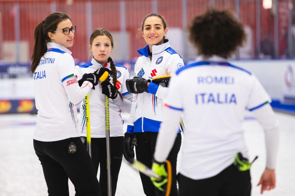 Angela Romei, Giulia Lacedelli, Stefania Constantini, Veronica Zappone, ita  © WCF / Celine Stucki