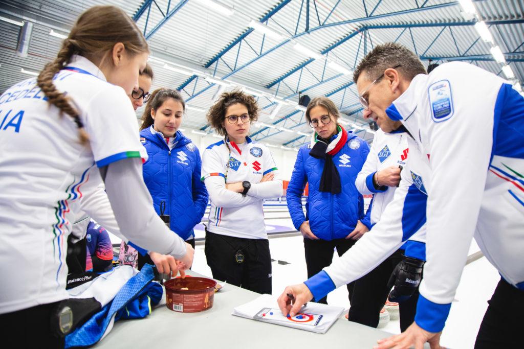 Angela Romei, Elena Dami, Giulia Lacedelli, ita, Stefania Constantini, Veronica Zappone © WCF / Celine Stucki