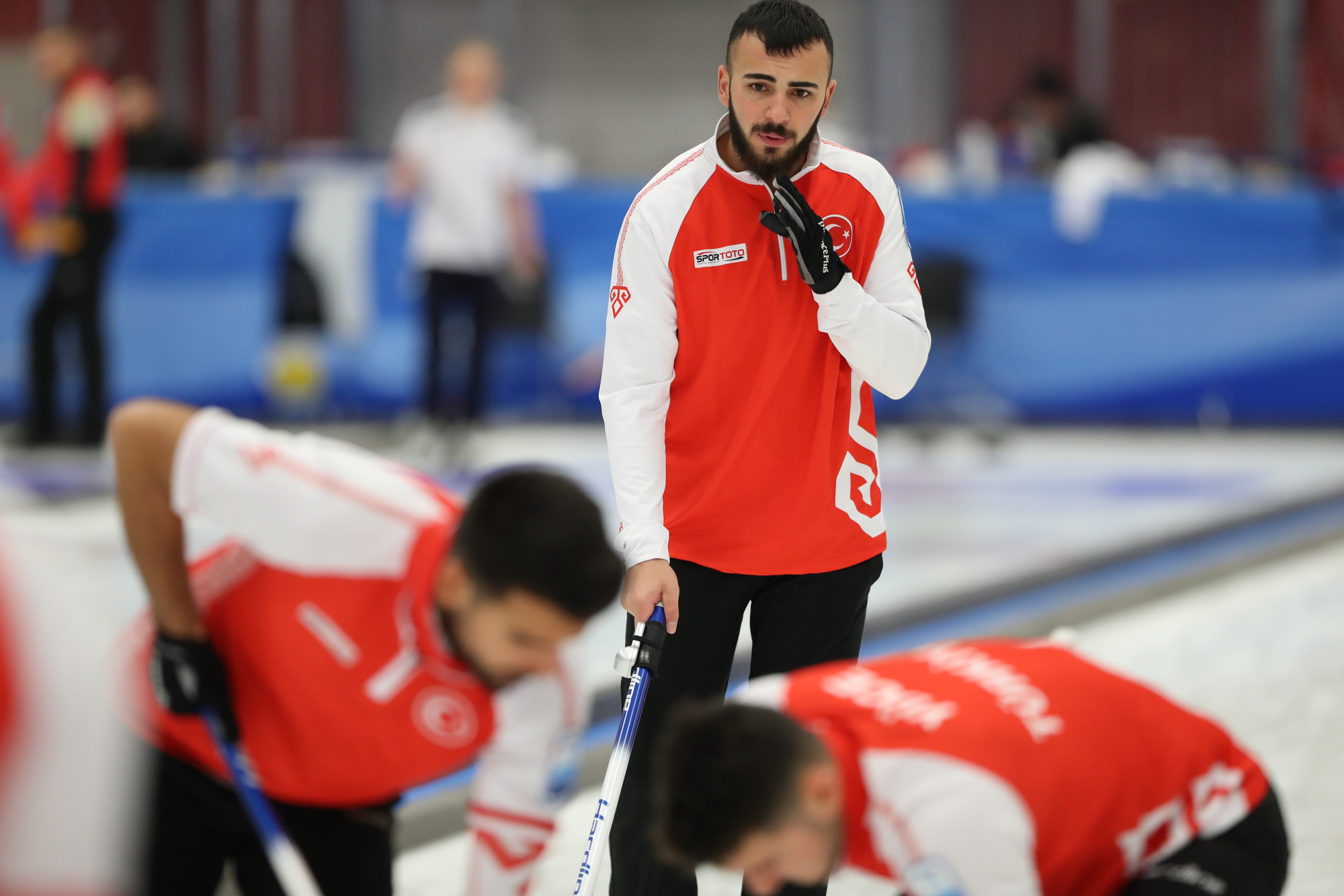 Le Gruyére AOP European Championships 2019 B-Division day two - World Curling Federation