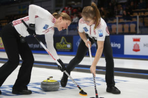 Denmark and Latvia record debut wins in A-Division - World Curling Federation