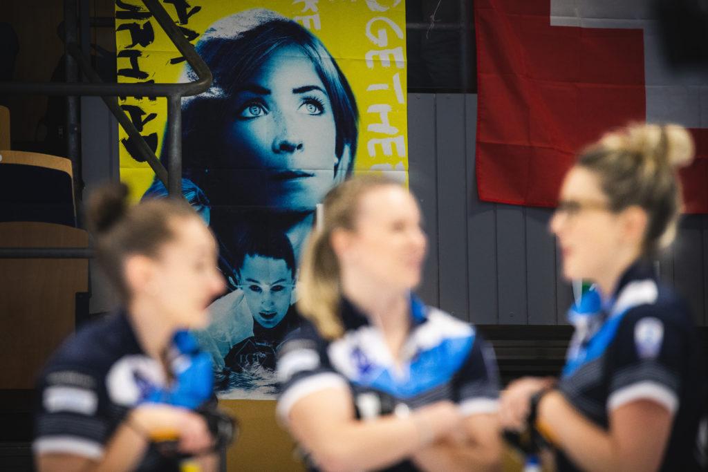 Eve Muirhead, Jennifer Dodds, Lauren Gray, Victoria Wright, sco © WCF / Celine Stucki