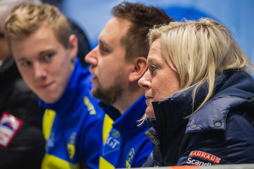 Daniel Magnusson, Frederik Lindberg, Maria Prytz, swe © WCF / Celine Stucki