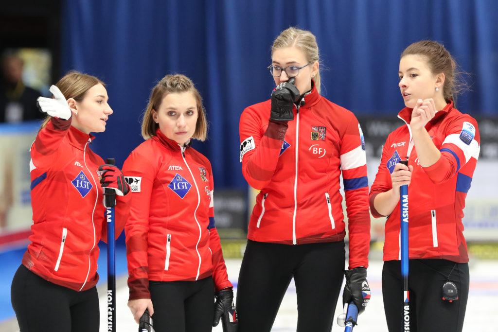 Alzbeta Baudysova, Anna Kubeskova, Ezen Kolcevskaja, Michaela Baudysova © WCF / Richard Gray