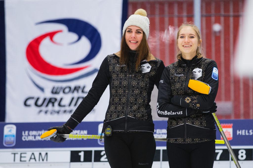 Alina Pavlyuchik, Oksana Gertova, blr © WCF / Celine Stucki