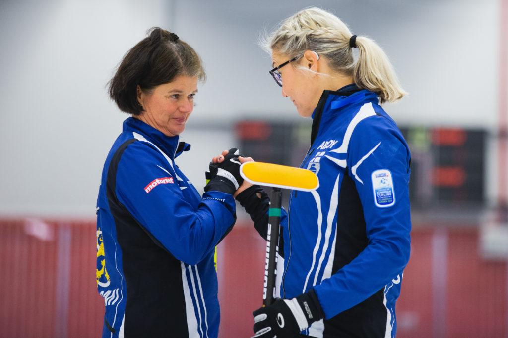 Elina Virtaala, Janina Lindstroem, fin © WCF / Celine Stucki