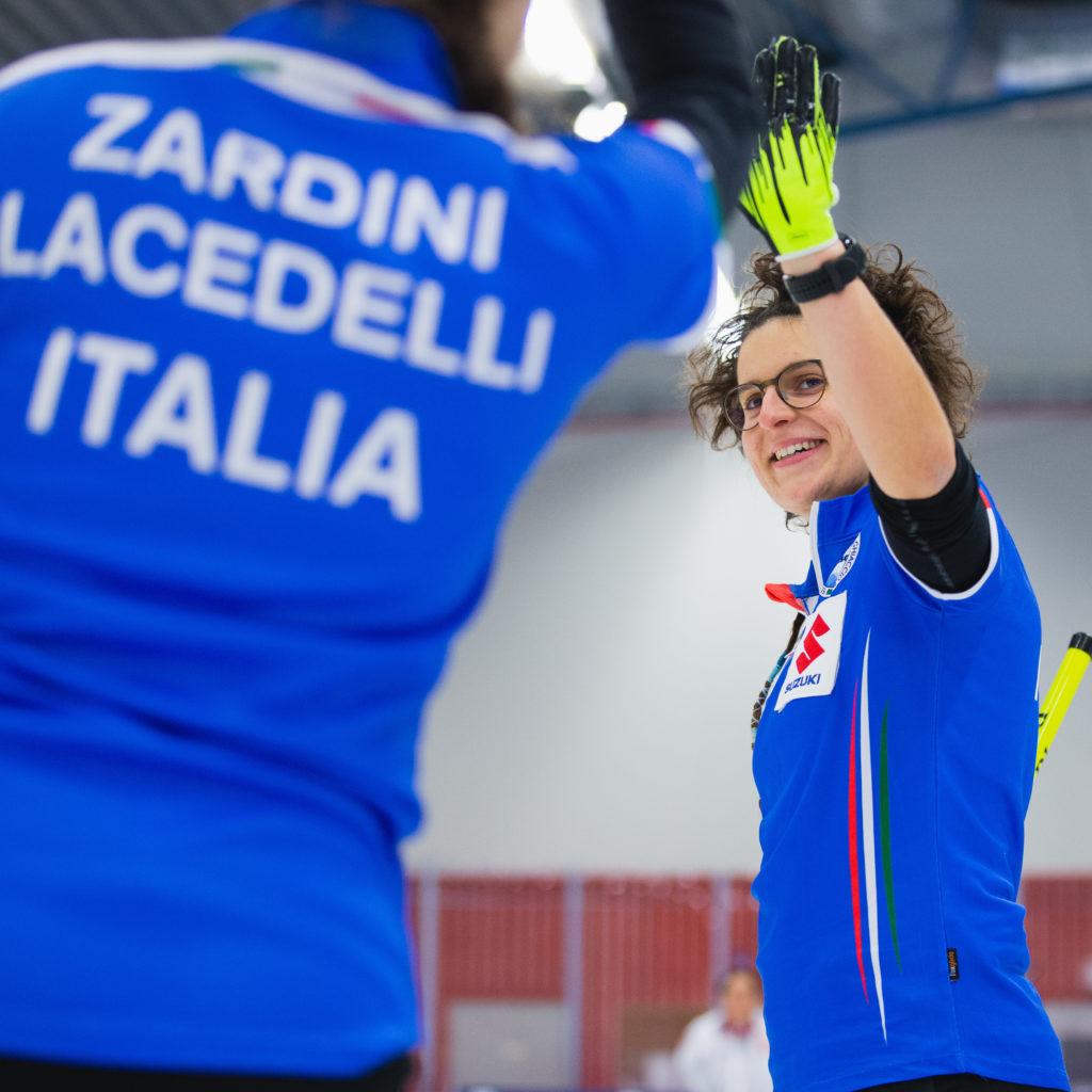 Angela Romei, Giulia Lacedelli, ita © WCF / Celine Stucki