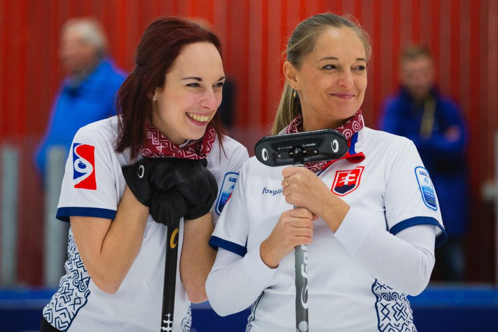 Lucia Orokocka, Silvia Sykorova, svk © WCF / Celine Stucki