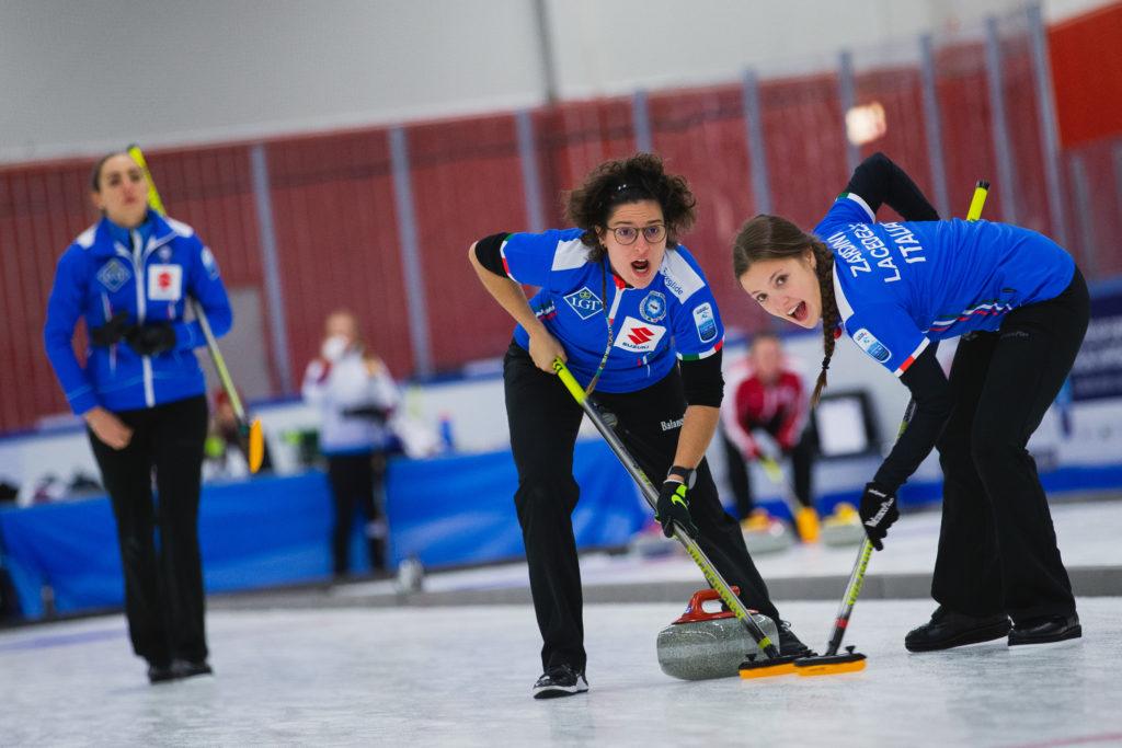 Angela Romei, Giulia Lacedelli, Veronica Zappone, ita © WCF / Celine Stucki