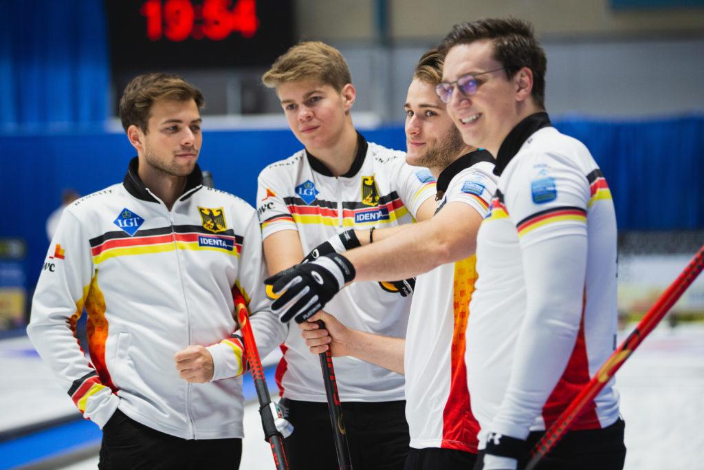 Dominik Greindl, Joshua Sutor, Marc Muskatewitz, Sixten Totzek, ger © WCF / Celine Stucki