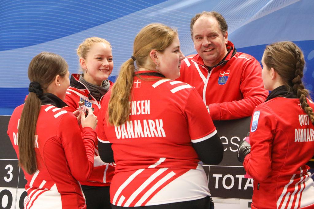 den, Gabriella Qvist, Jasmin Lander, Karolina Jensen, Mathilde Halse, Mikael Qvist © WCF / Richard Gray