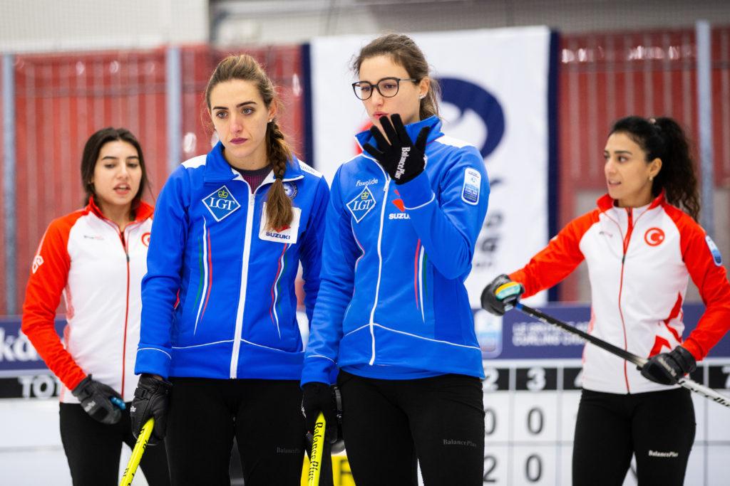Dilsat Yildiz, Oznur Polat, Stefania Constantini, Veronica Zappone, ita, tur © WCF / Celine Stucki