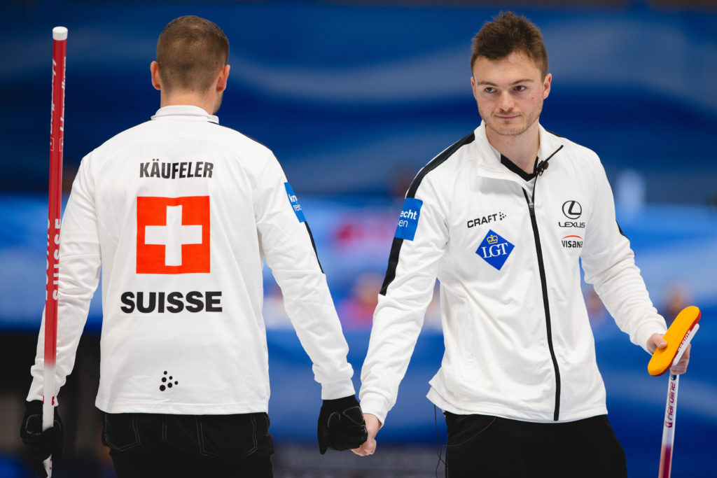 Marcel Kaeufeler, Michael Brunner, sui © WCF / Celine Stucki