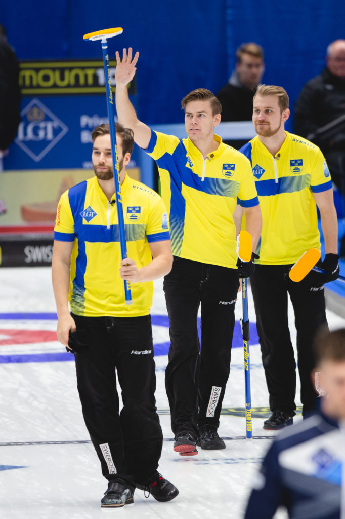 Christoffer Sundgren, Oskar Eriksson, Rasmus Wrana, swe © WCF / Celine Stucki