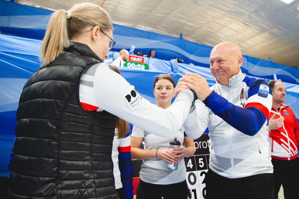 Anna Kubeskova, Karel Kubeska, Petra Vinsova, cze © WCF / Celine Stucki