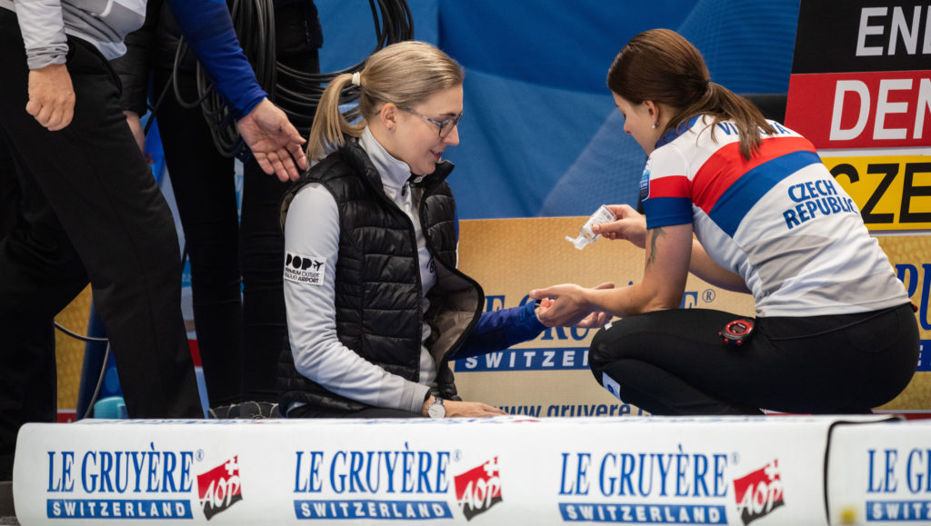 cze, Petra Vinsova, Anna Kubeskova © WCF / Cheyenne Boone