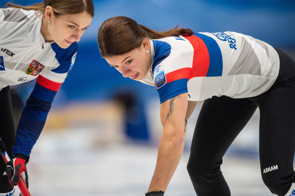 cze, Ezen Kolcevskaja, Petra Vinsova © WCF / Cheyenne Boone