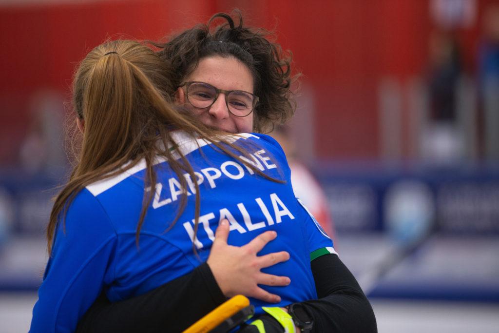 Angela Romei, ita, Veronica Zappone © WCF / Celine Stucki