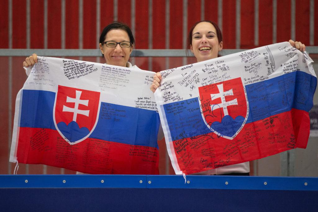 Linda Haferova, Silvia Sykorova, svk © WCF / Celine Stucki