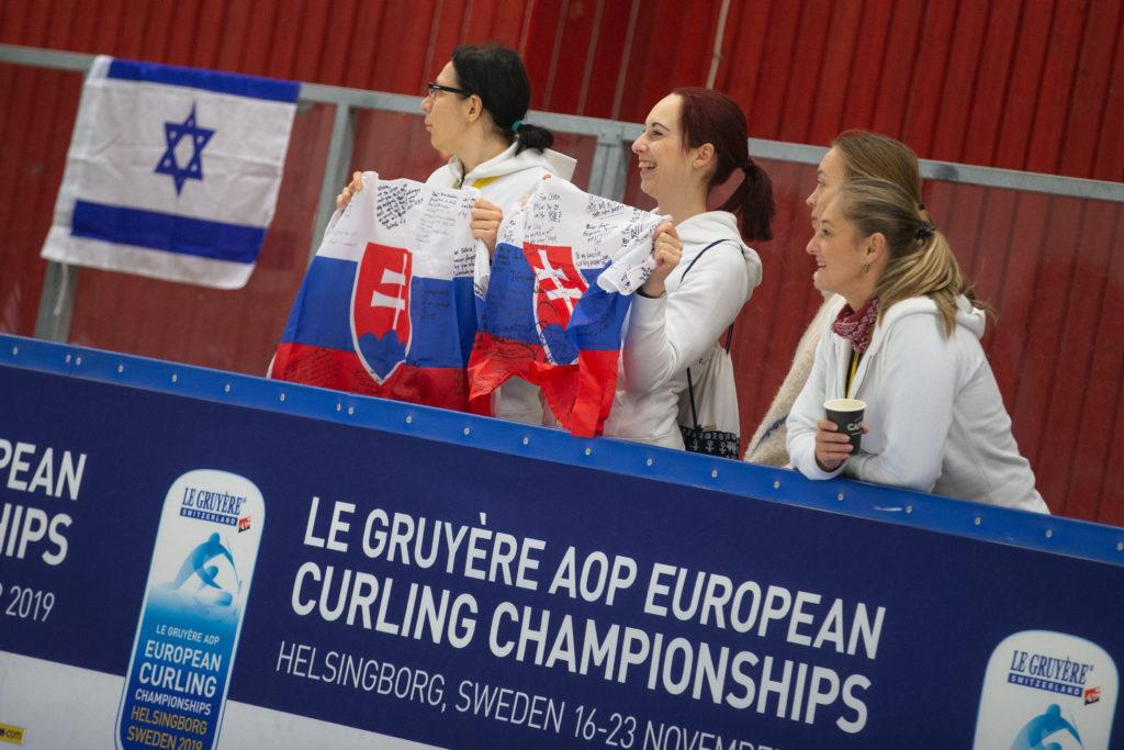 Gabriela Kajanova, Linda Haferova, Nina Mayerova, Silvia Sykorova, svk © WCF / Celine Stucki