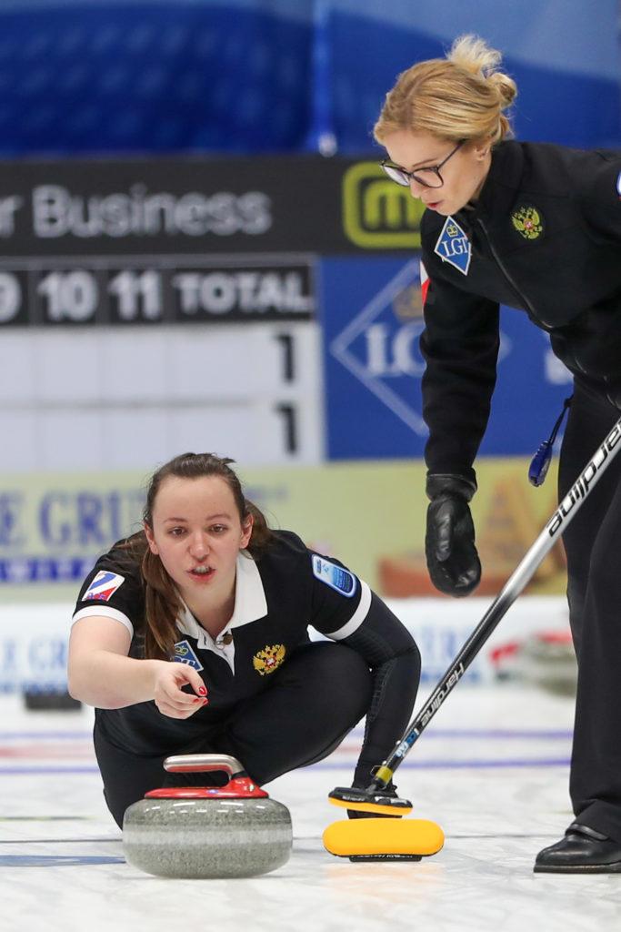 Ekaterina Kuzmina, Galina Arsenkina, rus © WCF / Richard Gray