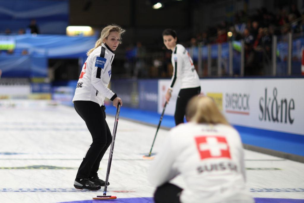 Switzerland in the semi-final © WCF / Richard Gray