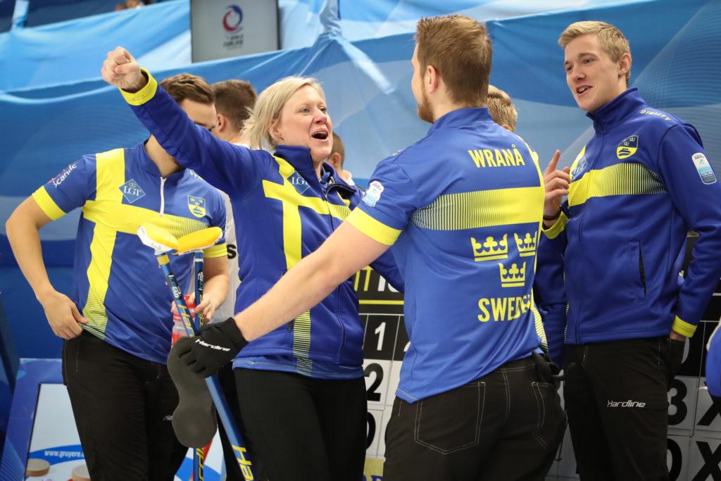 Daniel Magnusson, Maria Prytz, Rasmus Wranaa, swe © WCF / Richard Gray