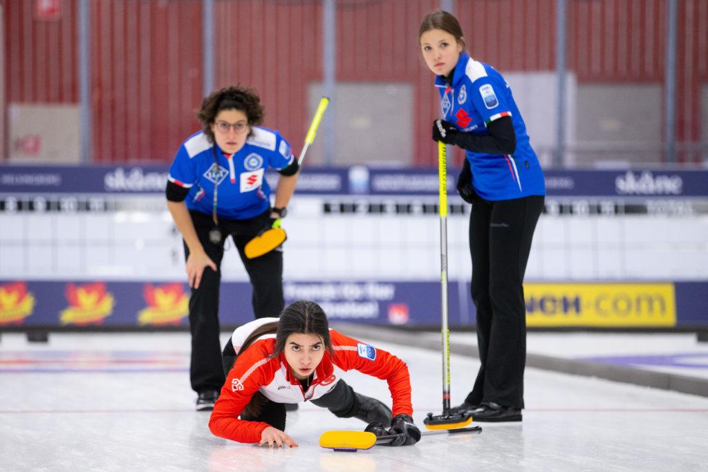 Angela Romei, Dilsat Yildiz, Giulia Lacedelli, ita, tur© WCF / Celine Stucki