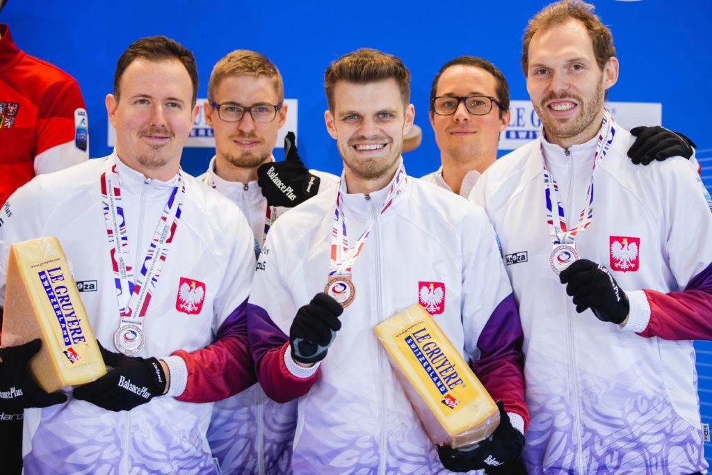 Bartosz Lobaza, Borys Jasiecki, Konrad Stych, Krzysztof Domin, pol © WCF / Celine Stucki