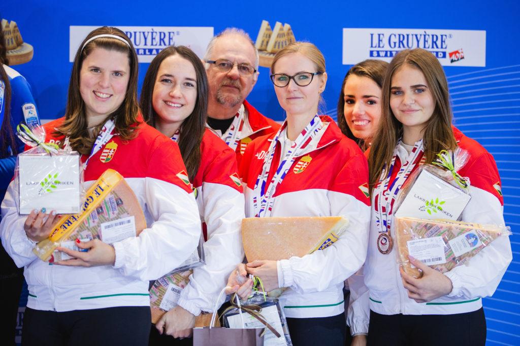 Dorottya Micheller, Dorottya Palansca, Henrietta Miklai, hun, Nikolett Sandor, Villoe Hamvas © WCF / Celine Stucki