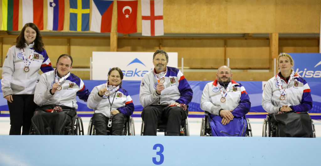 World Wheelchair-B Curling Championship 2019 © WCF / Alina Pavlyuchik