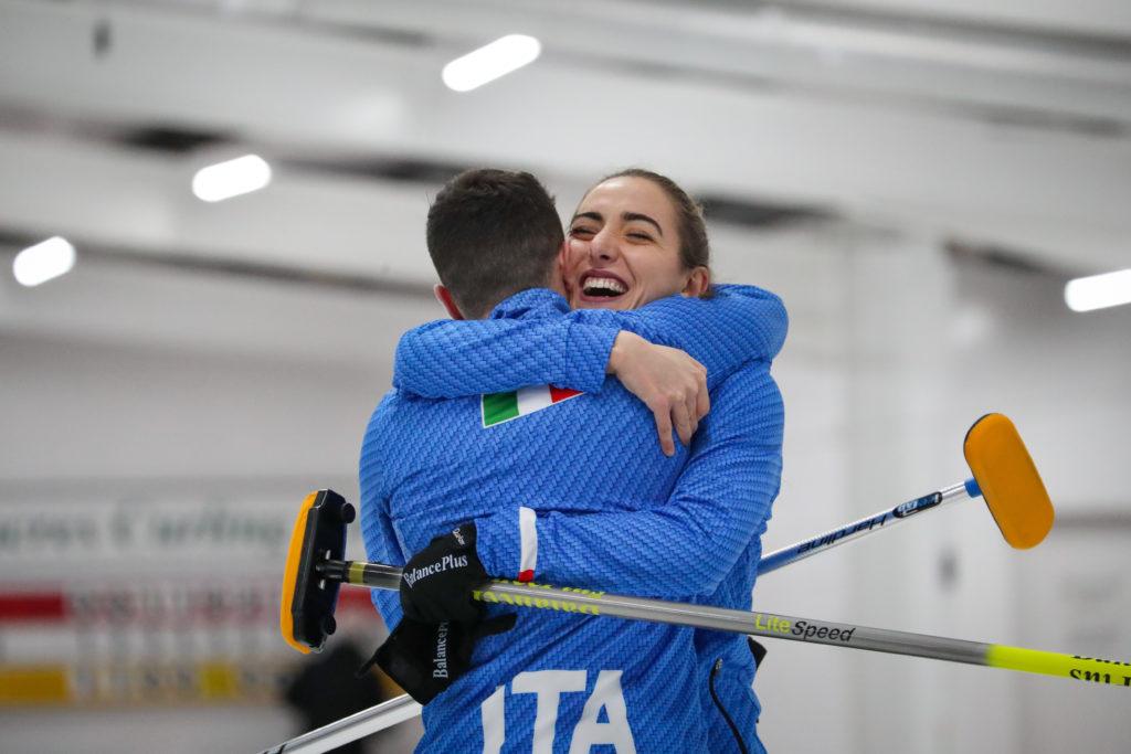 ita, Simone Gonin, Veronica Zappone © WCF / Richard Gray