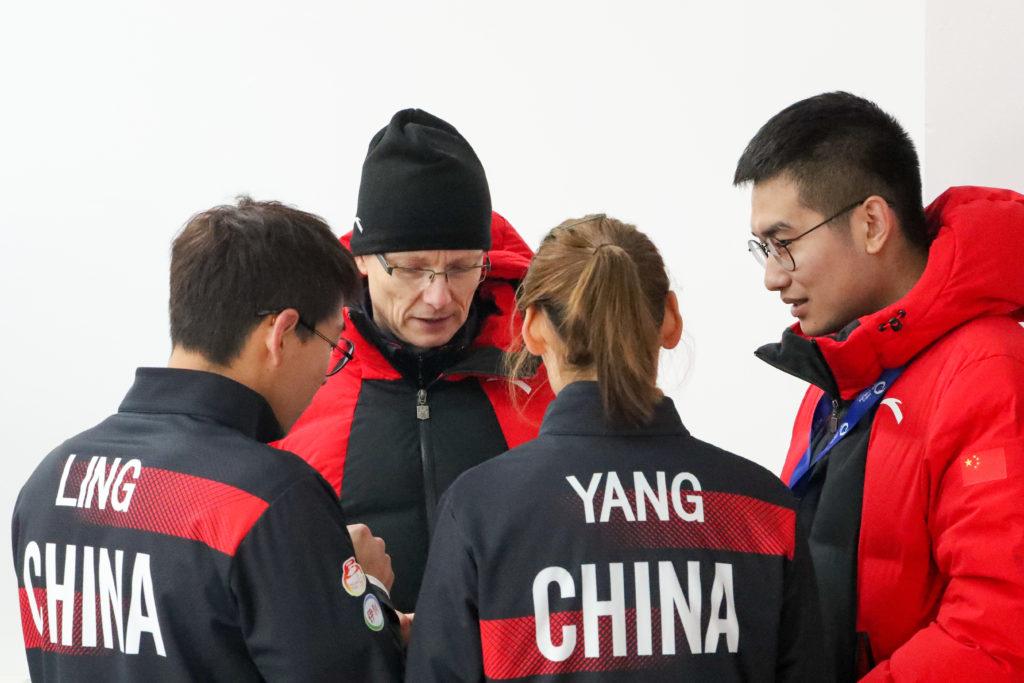 chn, Tomi Rantamaeki, Wendi Zhao, Yang Ying, Zhi Ling © WCF / Richard Gray