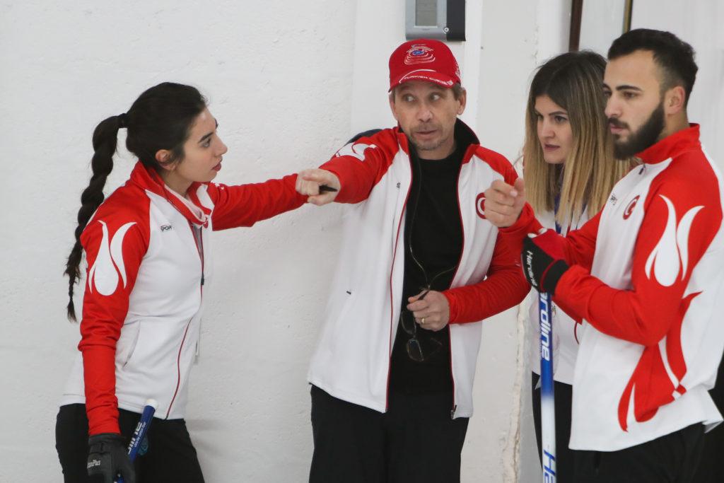 Anthony Zumack, Dilsat Yildiz, Hatice Herdili Sahin, Ugurcan Karagoz, tur © WCF / Richard Gray