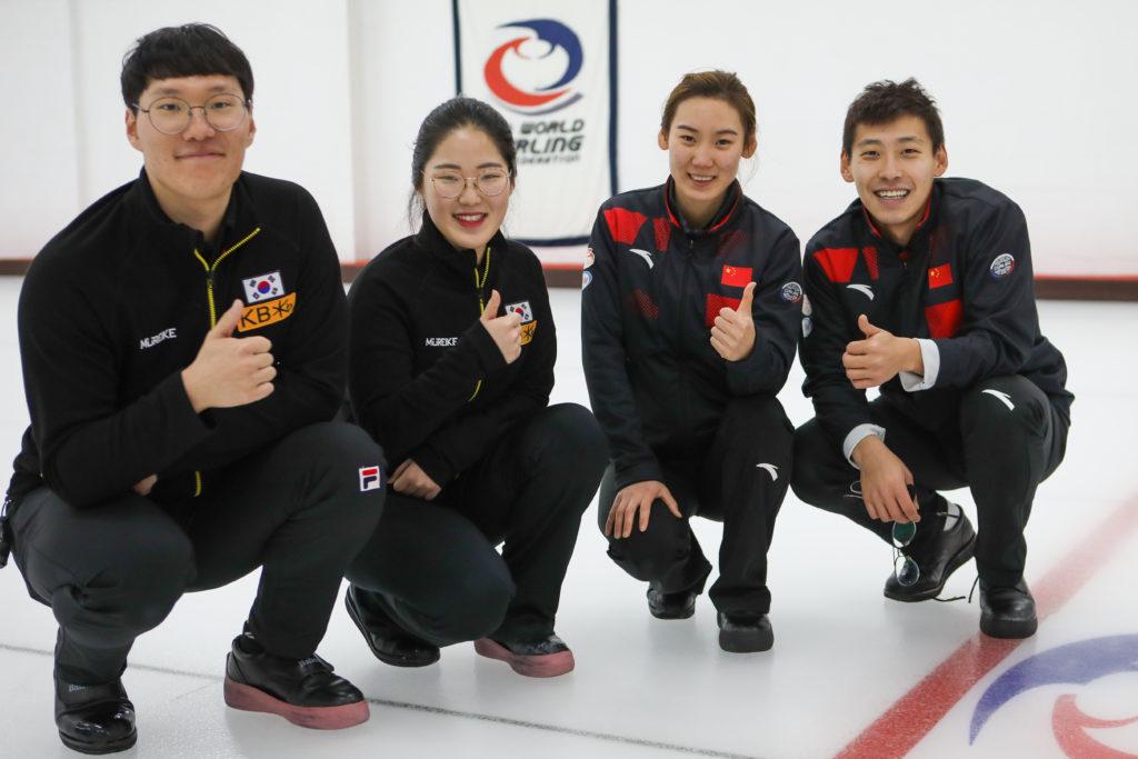 Hyeji Jang, Yang Ying, Yujin Seong, Zhi Ling , kor, chn © WCF / Richard Gray