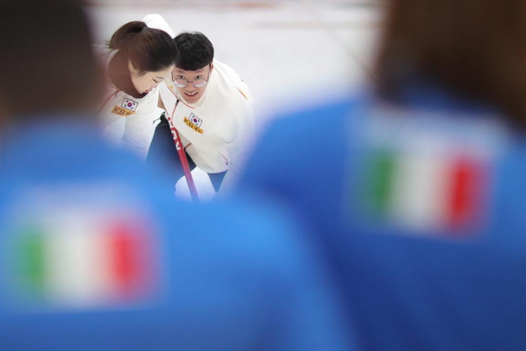 Hyeji Jang, Yujin Seong, kor © WCF / Richard Gray