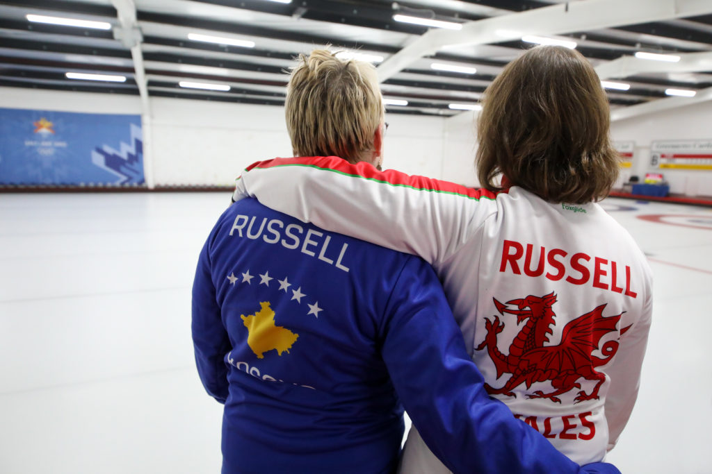Heather Russell, wal, Judy Russell, kos © WCF / Richard Gray