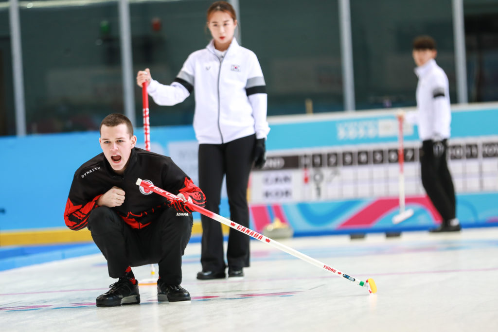 Canada's Nathan Young at the Winter Youth Olympic Games 2020, Lausanne, Switzerland © WCF / Alina Pavlyuchik