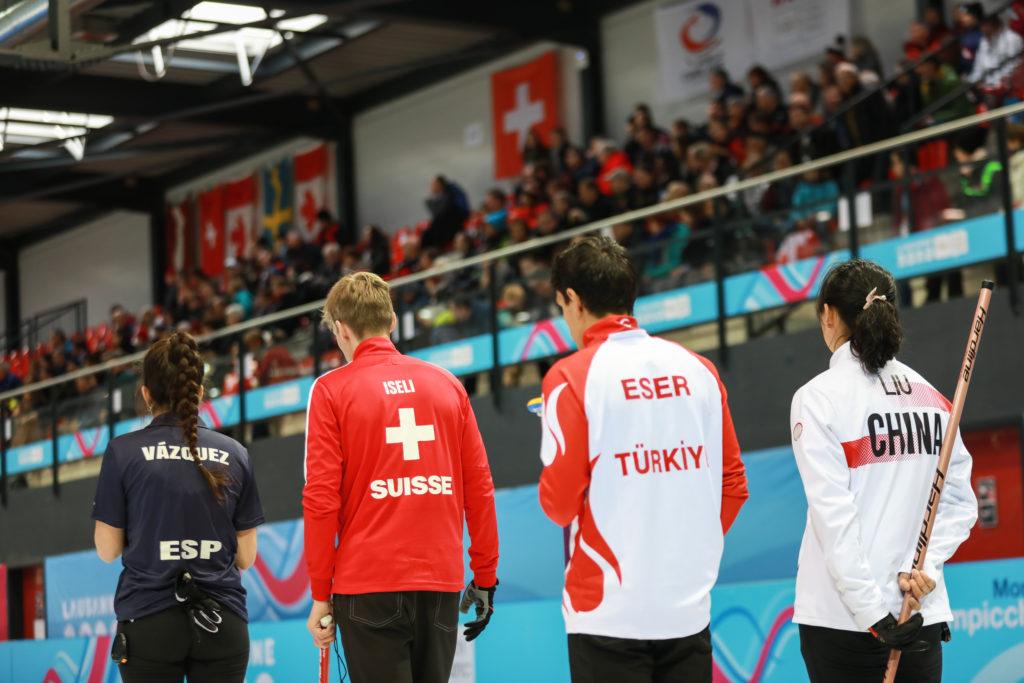 Mixed Doubles action © WCF / © WCF / Alina Pavlyuchik