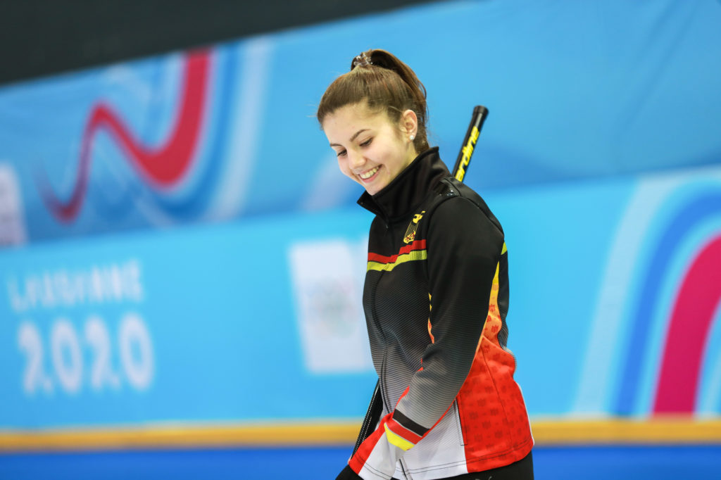 'It helped so much' Youth Olympic curler leans on family experience for support - World Curling Federation