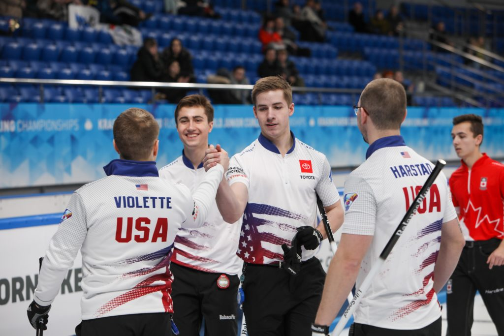 Ben Richardson, Graem Fenson, Jon Harstad, Luc Violette, usa © WCF / Richard Gray