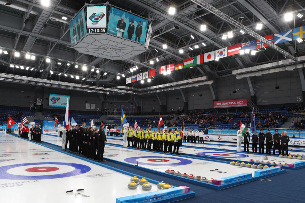 World Junior Curling Championships 2020, Krasnoyarsk, Russia
