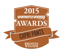 Women's Running Award Capri Pants Bronze Winner