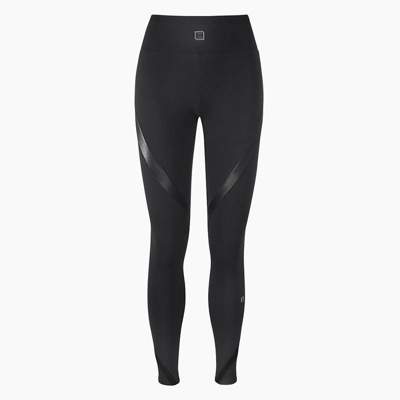 Zana Jet Black Full Length Legging