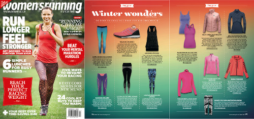 Women's Running UK - Erin Front Cover
