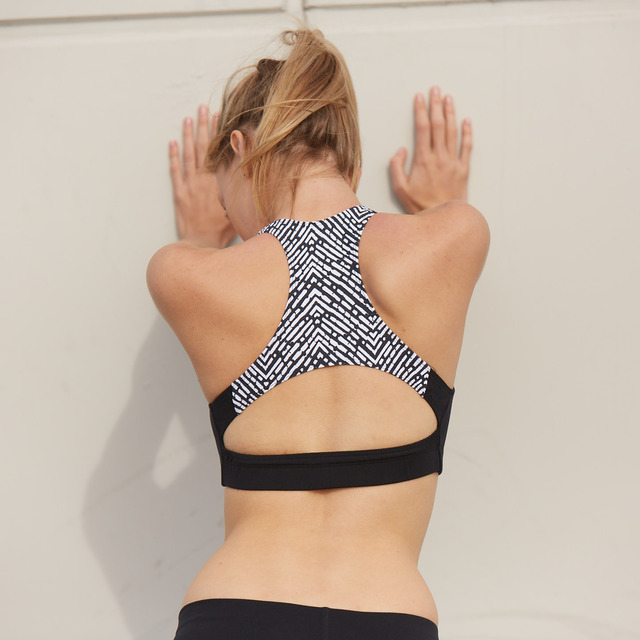 Ellie Racer-back Sports Bra